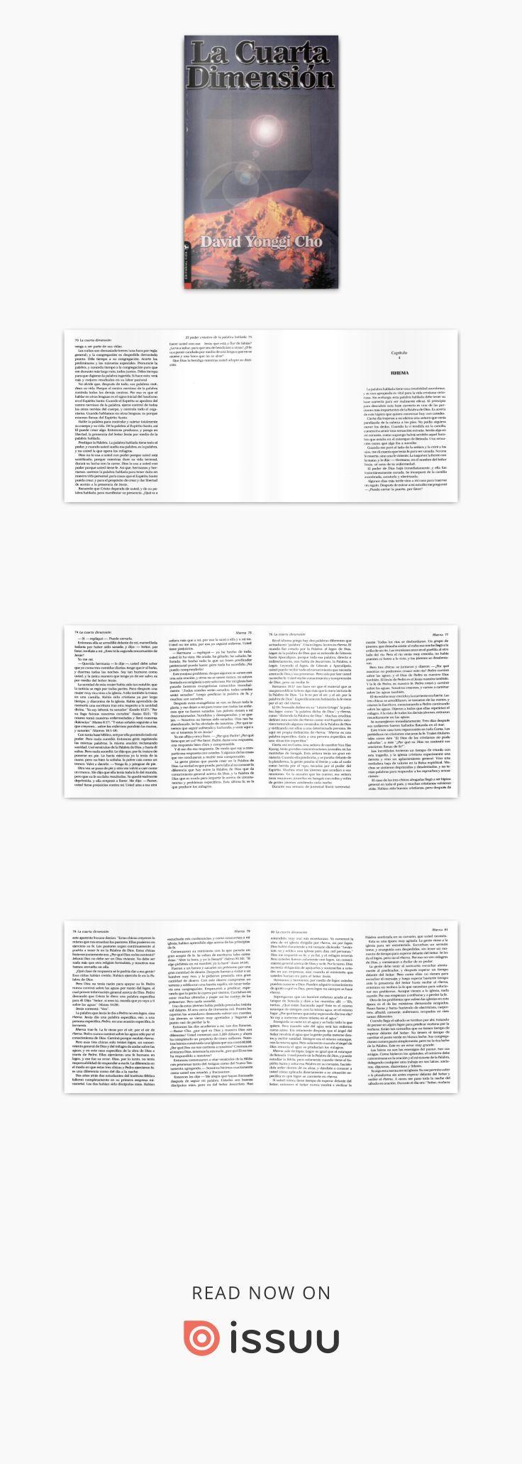 La cuarta dimension david yonggi cho   libros cristianos ...