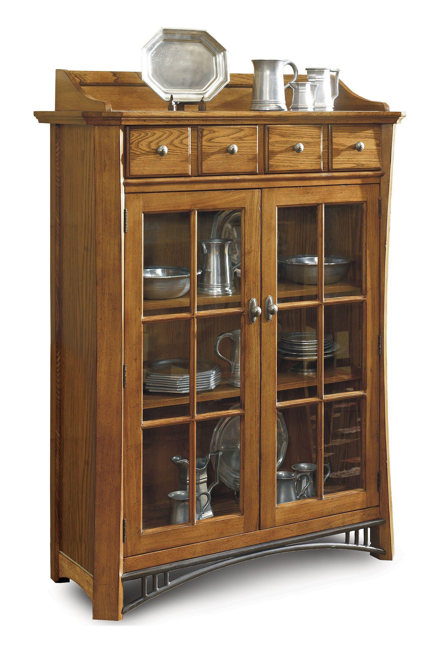 Breckenridge Display Cabinet Adjustable Shelving Cabinet Home