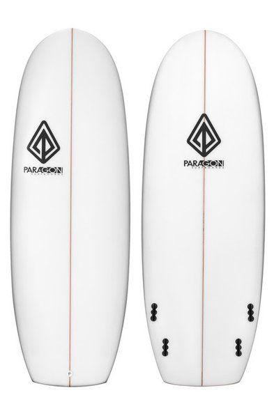 "Paragon Mini Simmons 5'6"" White Surfboard"