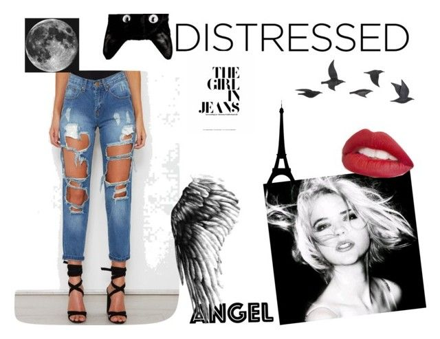 """""""#Confused"""" by linastyles-unique ❤ liked on Polyvore featuring art"""