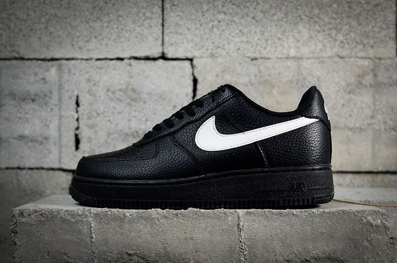4babec9c2e22e Populaire Nike Air Force 1 07 LV8 Low Black Noir White blanc-Sail AA4083-001  Youth Big Boys Shoes