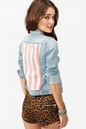 Stars & Stripes Denim Jacket