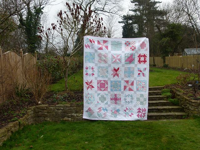 Paula's Quilt by Laura @ Needles, Pins and Baking Tins, via Flickr