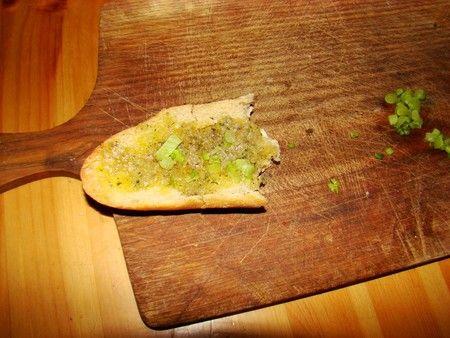 Lou Saussoun Varois (amande-anchois-huile d'olive-fenouil). Une alternative à la tapenade