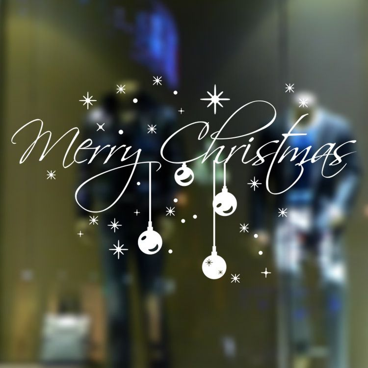 Vinyl Clings For Retail Windows For Christmas Google Search