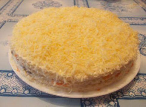 Картинки по запросу Селедочный торт затмит на любом застолье оливье и шубу