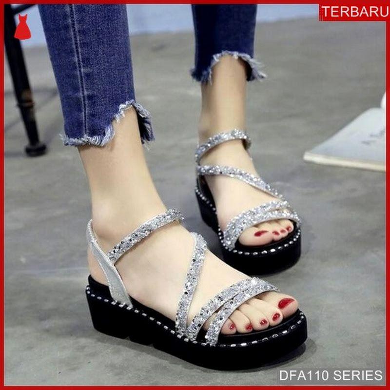 Dfa110 42 Sandal Wedges Almashyra Wanita 14 Wedges Dewasa 5340