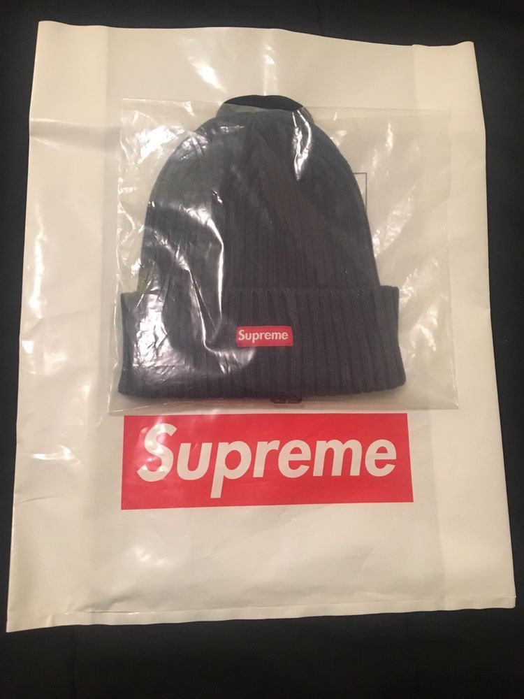 2266e926d9d Supreme overdyed ribbed beanie (Navy)  fashion  clothing  shoes   accessories  mensaccessories  hats (ebay link)