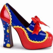 clown shoes - could make these out of a thrift store pair?