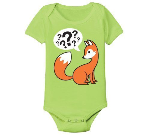 Fox Say - Question Marks  Price : $12.99 http://www.kidteez.com/KidTeez-Fox-Say-Question-Marks/dp/B00G3D0BC0