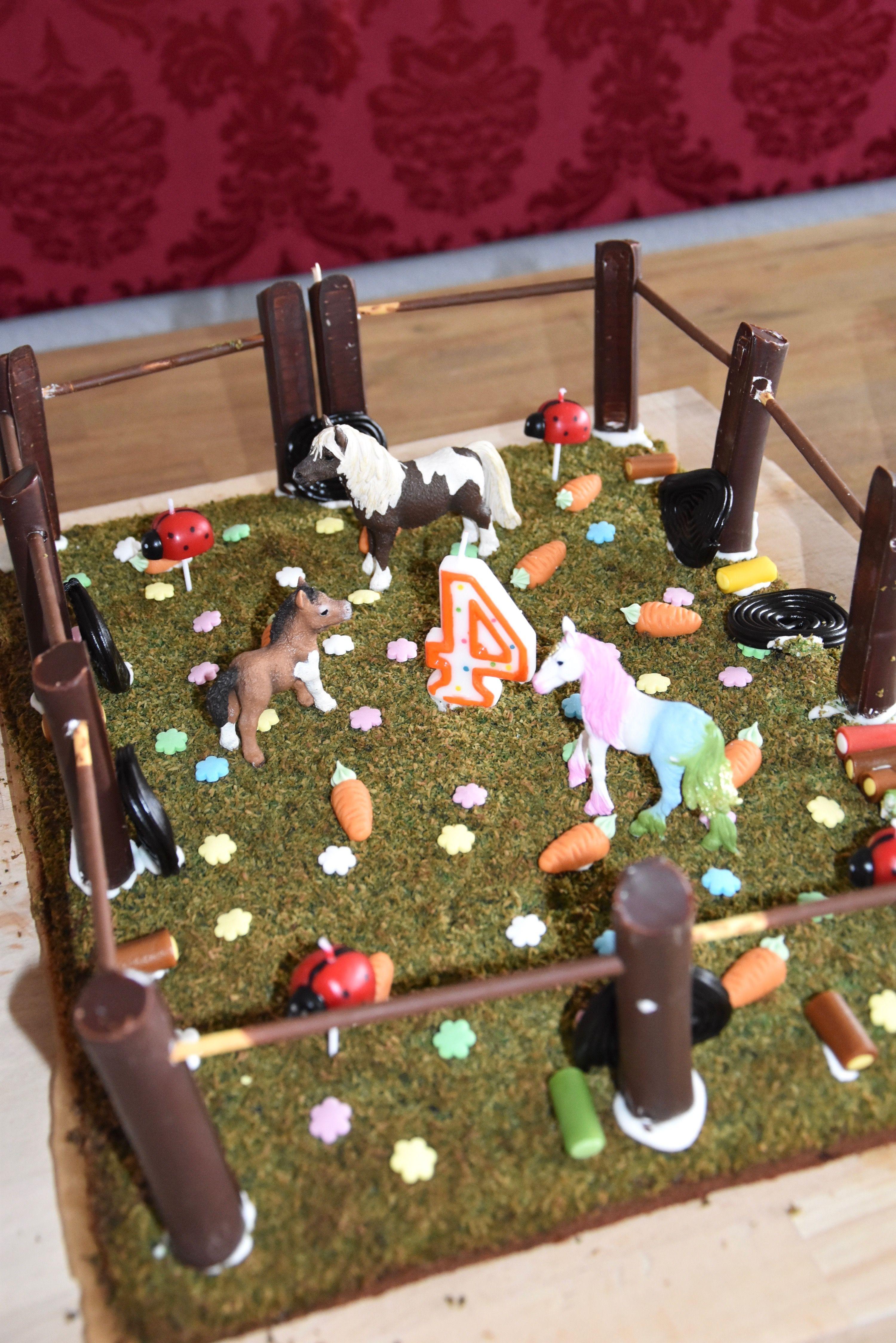 Pferdekuchen Kindergeburtstag Diesen Wunderbaren Pferdekuchen Fur