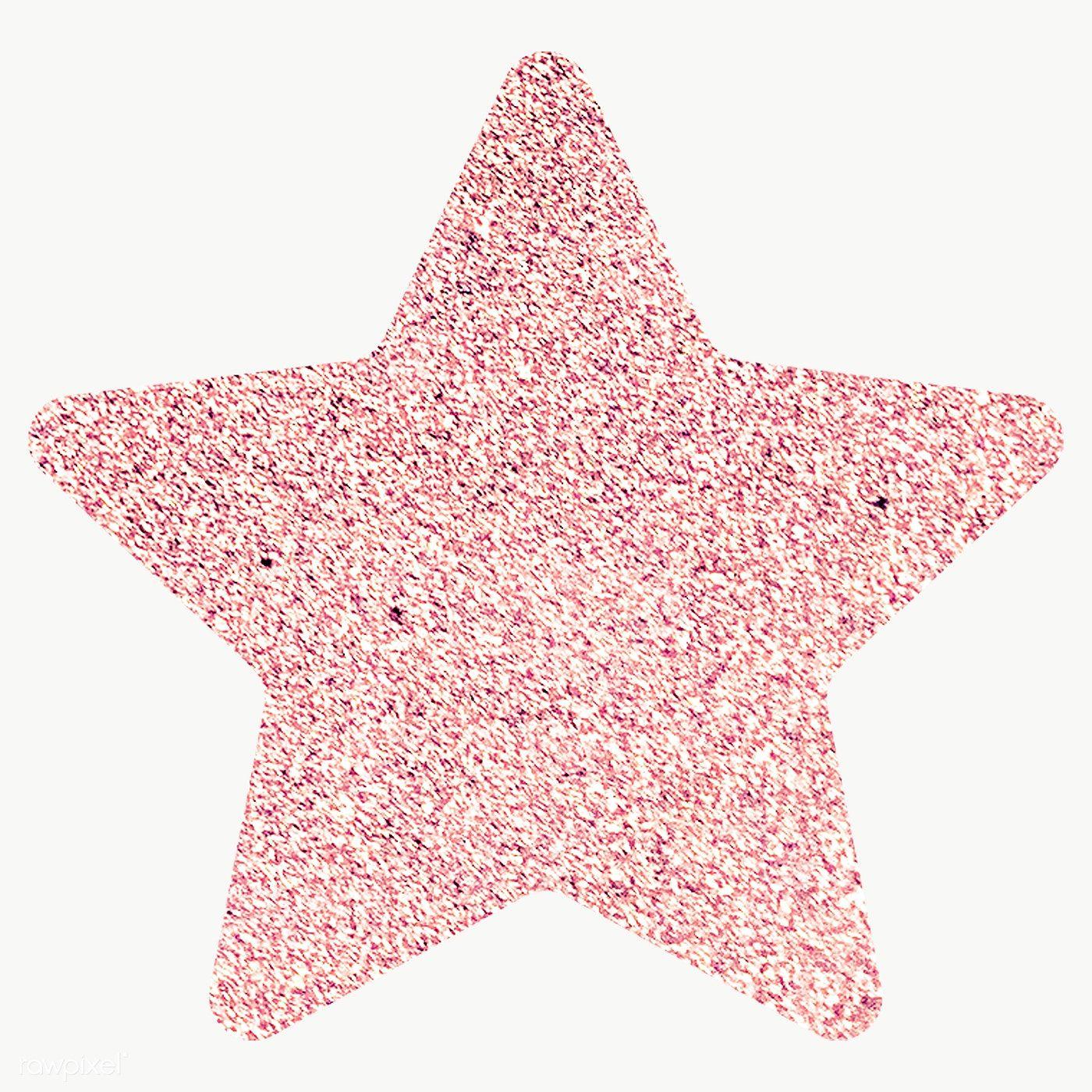 Glitter Star Sticker Transparent Png Free Image By Rawpixel Com Ningzk V