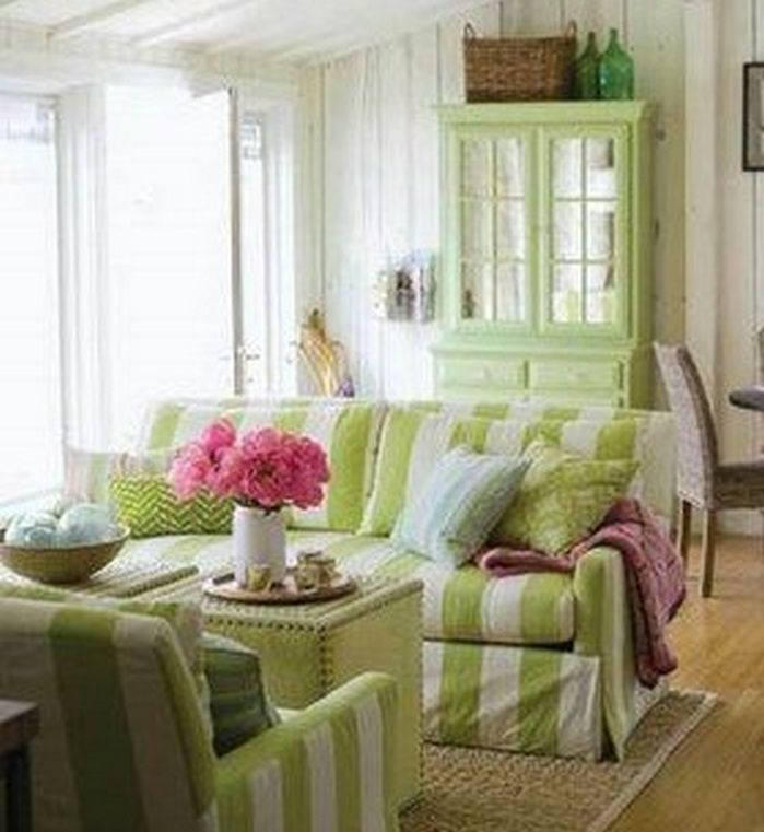 50+ Spring Color Home Decor Living Rooms_50
