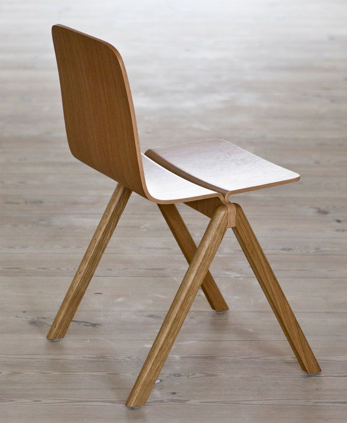 Table And Chair By Ronan And Erwan Bouroullec For Hay Furniture Chair Chair Design
