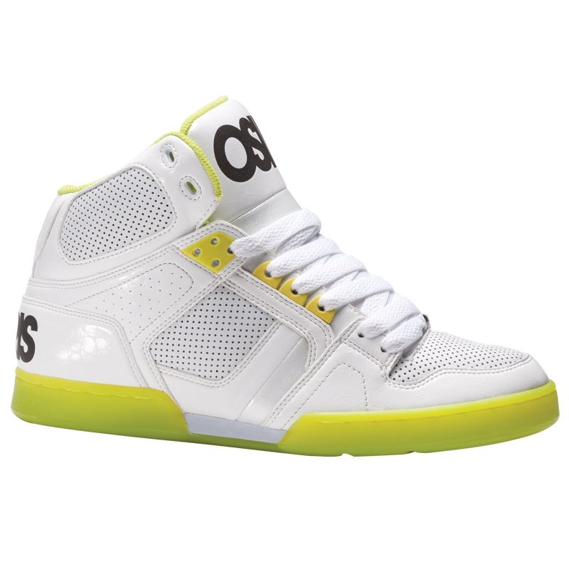 d2cfb8ea6bb Osiris NYC 83 Shoes White/Lime/White #osiris | Shoes | Shoes, Osiris ...