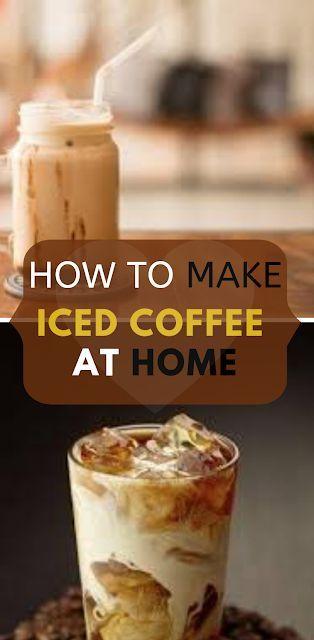 How To Make Perfect Iced Coffee At Home With A Keurig Easy Recipes Rezept Eiskaffee Rezept Einfach Rezepte Lebensmittel Essen