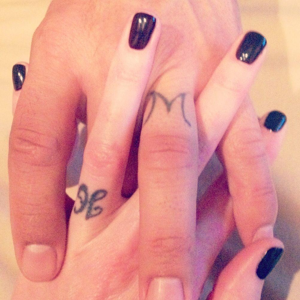 Wedding ring tattoos | [inks] | Pinterest | Wedding ring tattoos ...