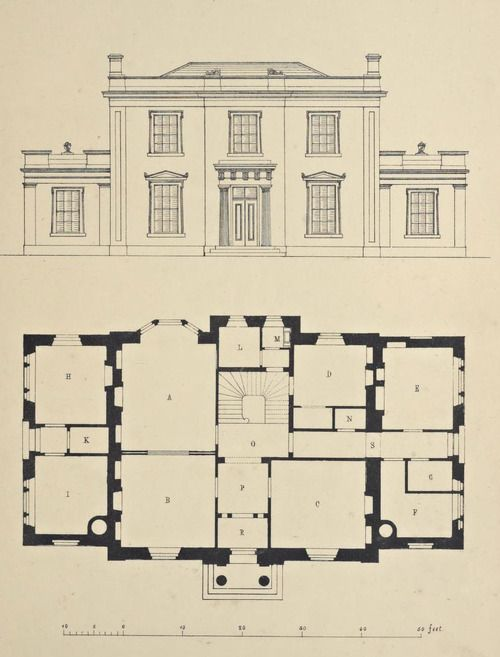 Design For A Country Estate England With Images Architectural