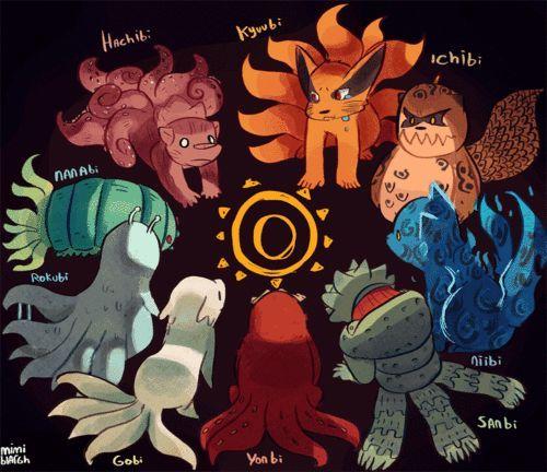 Tailed Beasts Wallpapers: Fanart Naruto Bijuus - Buscar Con Google