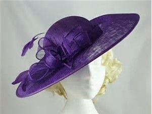 Resultado de imagen de purpe ascot hats