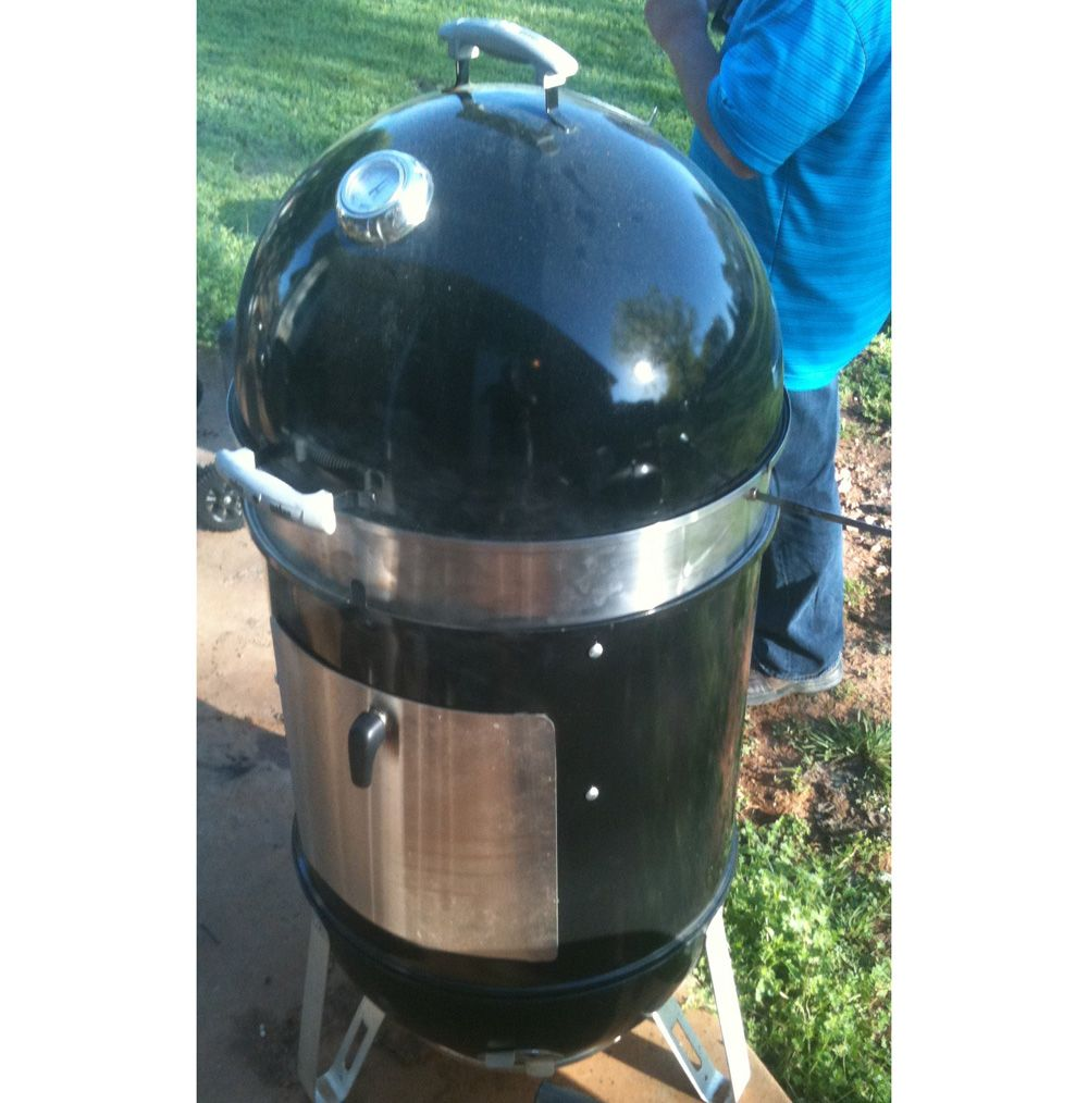 Weber 711001 Smokey Mountain Cooker 14 Inch Charcoal Smoker Black Charcoal Smoker Weber Smokey Mountain Cooker Weber Grill