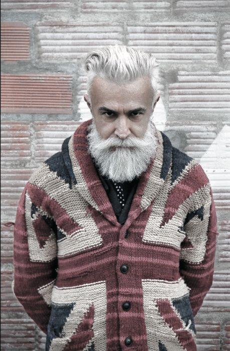 Photo of 60 graue Bartstile für Männer – Distinguished Facial Hair Ideas – Man Style | Tätowieren