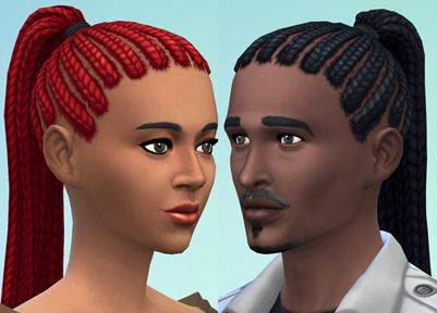 Lana CC Finds | Sims 4 | Mens dreads, Sims 4, Sims