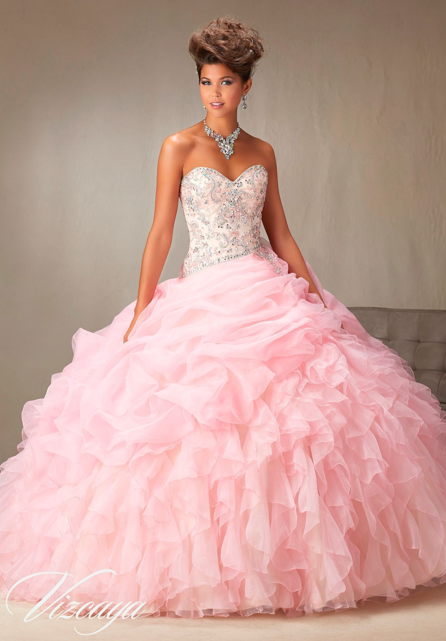 Mori Lee Quinceanera Dress 89064 | Pinterest | Vestiditos