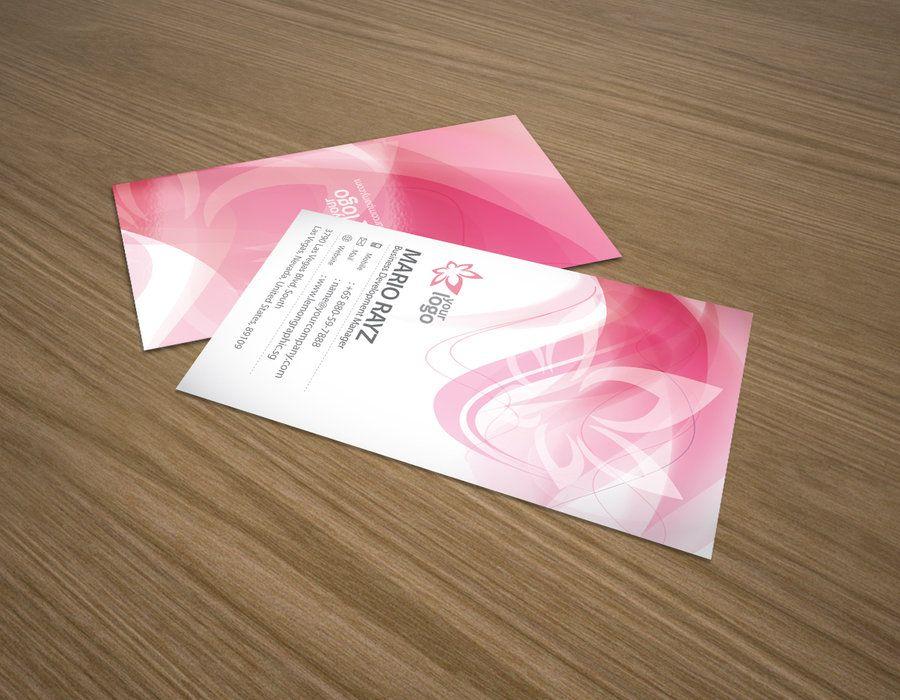 Cherry blossom business card by ~Lemongraphic on deviantART http ...