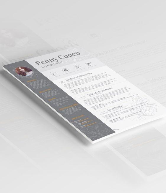 Microsoft Word Resume Templates Adobe Photoshop Resume Templates - photoshop resume template