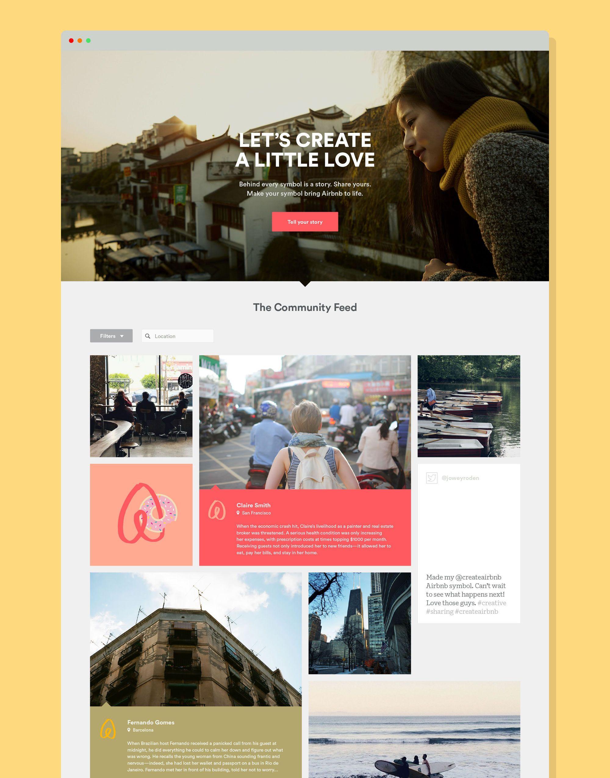 Designstudio Airbnb Minimal Web Design Airbnb Design Digital Creative Agency