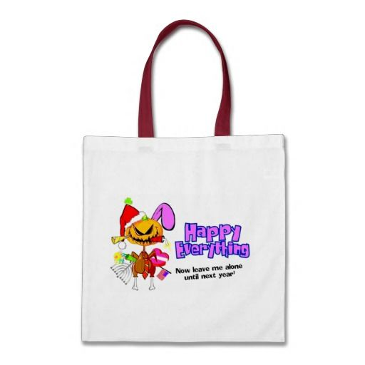 Happy Holidays-Happy Anything-Happy Everything Canvas Bag