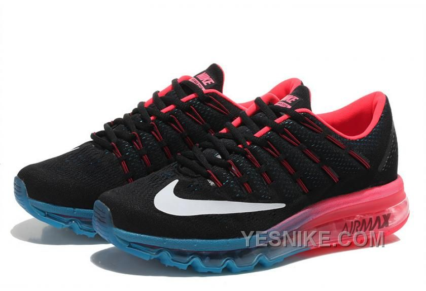 Big Discount  66 OFF Soldes Le Style Unique De Femme Nike Air Max 2016 Baskets NoirRoseOrange Vente Privee