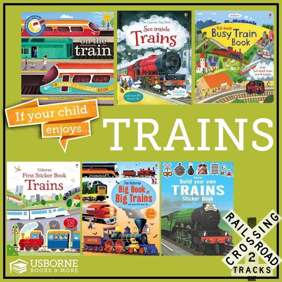 Got A Kid That Loves Trains Teach Them With Usborne Books Http