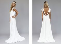 Robe de mariée Rime Arodaky - Lookbook 2013 - Modèle Tess