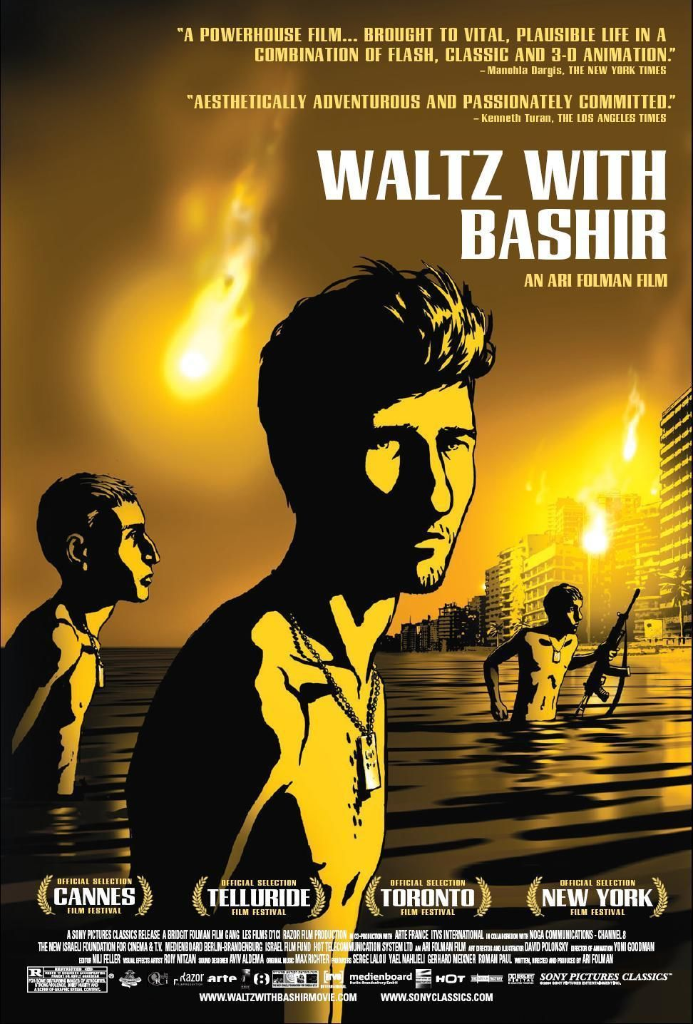 Waltz With Bashir 2008 En Espanol Vals Con Bashir Es Una