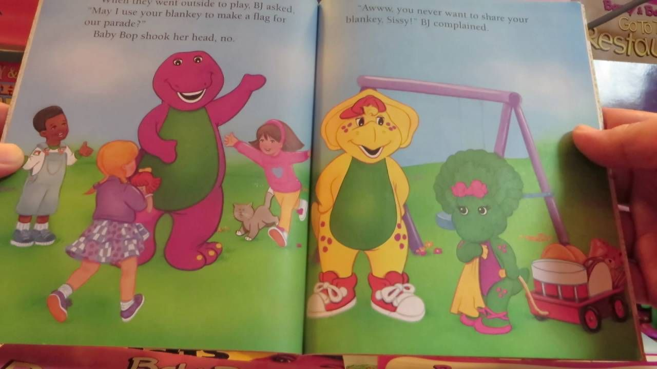 barney and friends a magical place for a child u0027s imaginations to grow