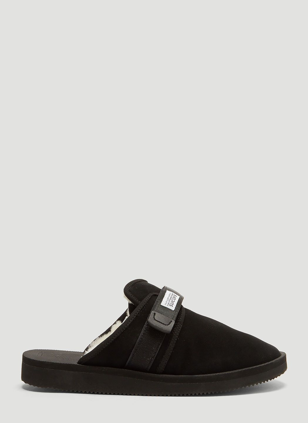 c2876e1bd388 SUICOKE Zavo Mab Suede Sandals in Black.  suicoke  shoes