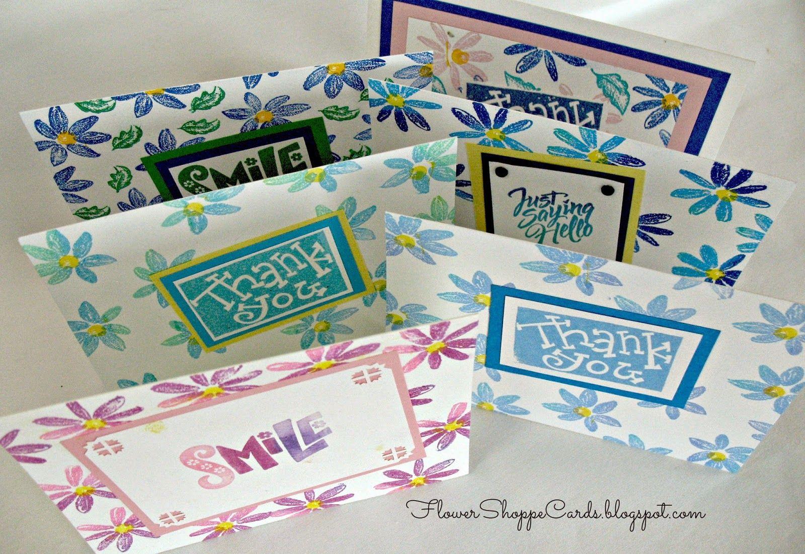 Flower Shoppe Cards