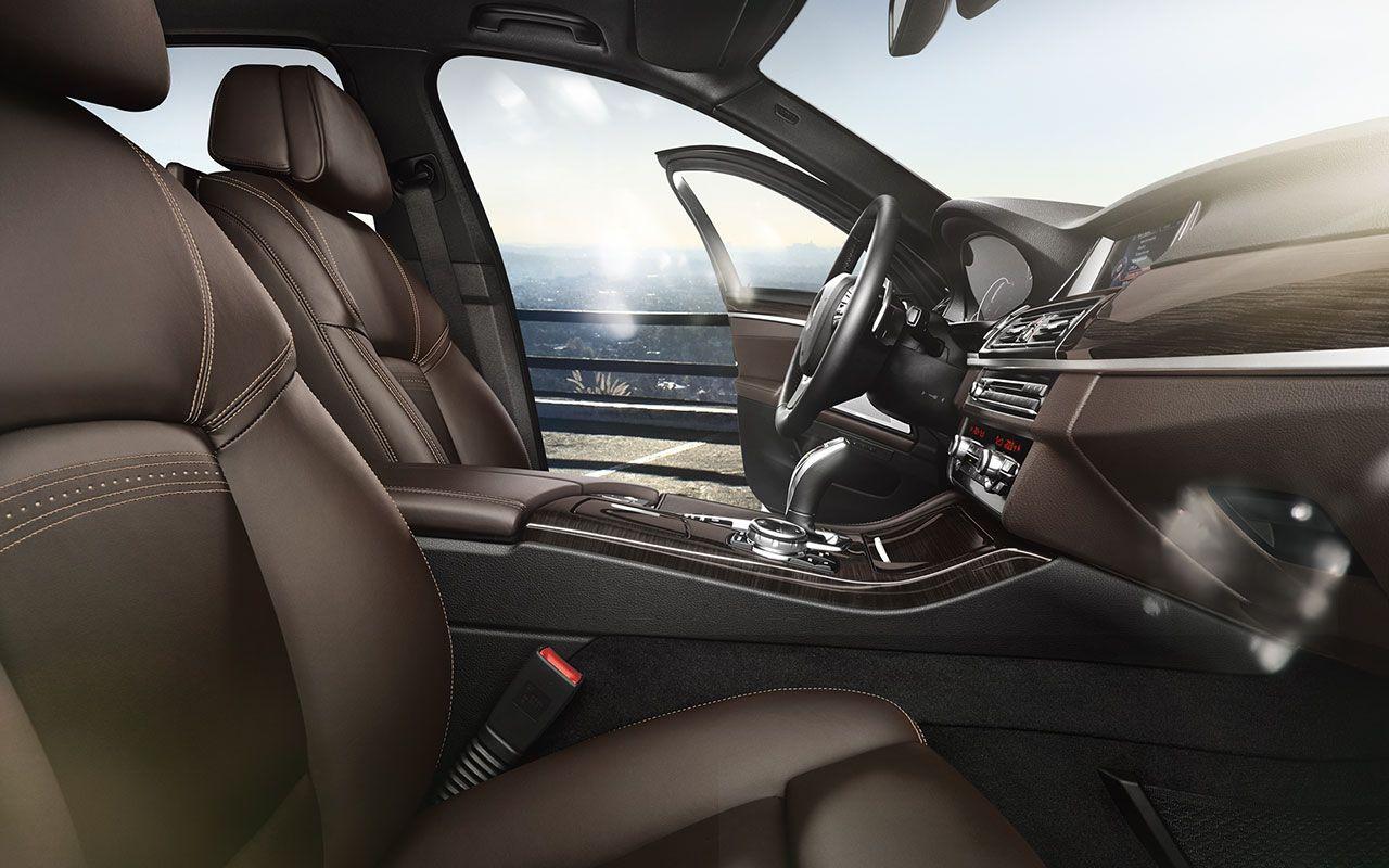 The Bmw 535i Sedan With Nappa Leather Interior In Mocha Bmw 5