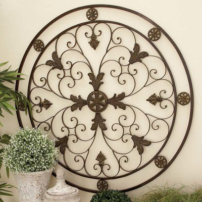 Bungalow Rose Metal Wall Décor   Metal walls and Products