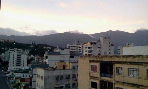 Tarde en #Caracas!