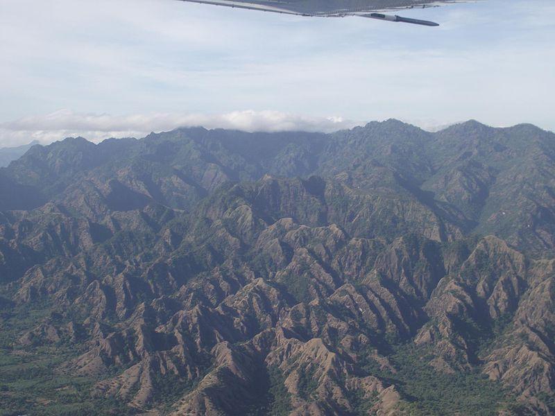 Mountains near Sacato, suco of Nipane, East Timor