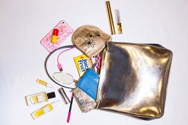 Pocket Guide: What's in your bag: Linda Rodin bag