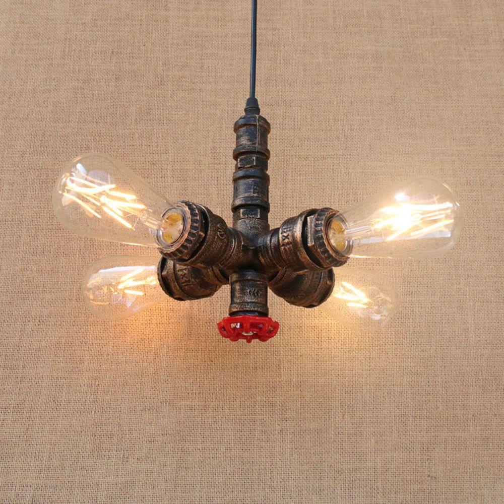 Details zu Vintage Anhänger Wasserpfeife Lampe Steampunk Decken