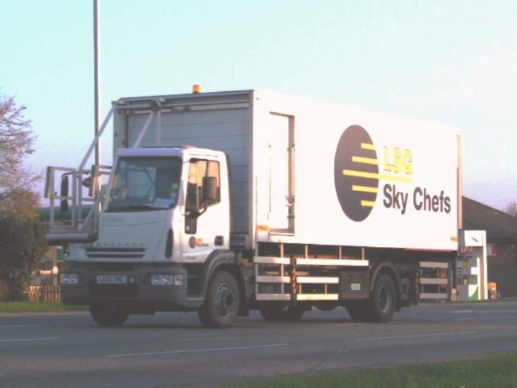 Iveco Eurocargo Catering Truck Heading towards Norwich Airport - lsg sky chef sample resume