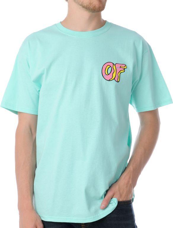 bf6b343a0b78 Odd Future Donut Mint Green T-Shirt in 2019
