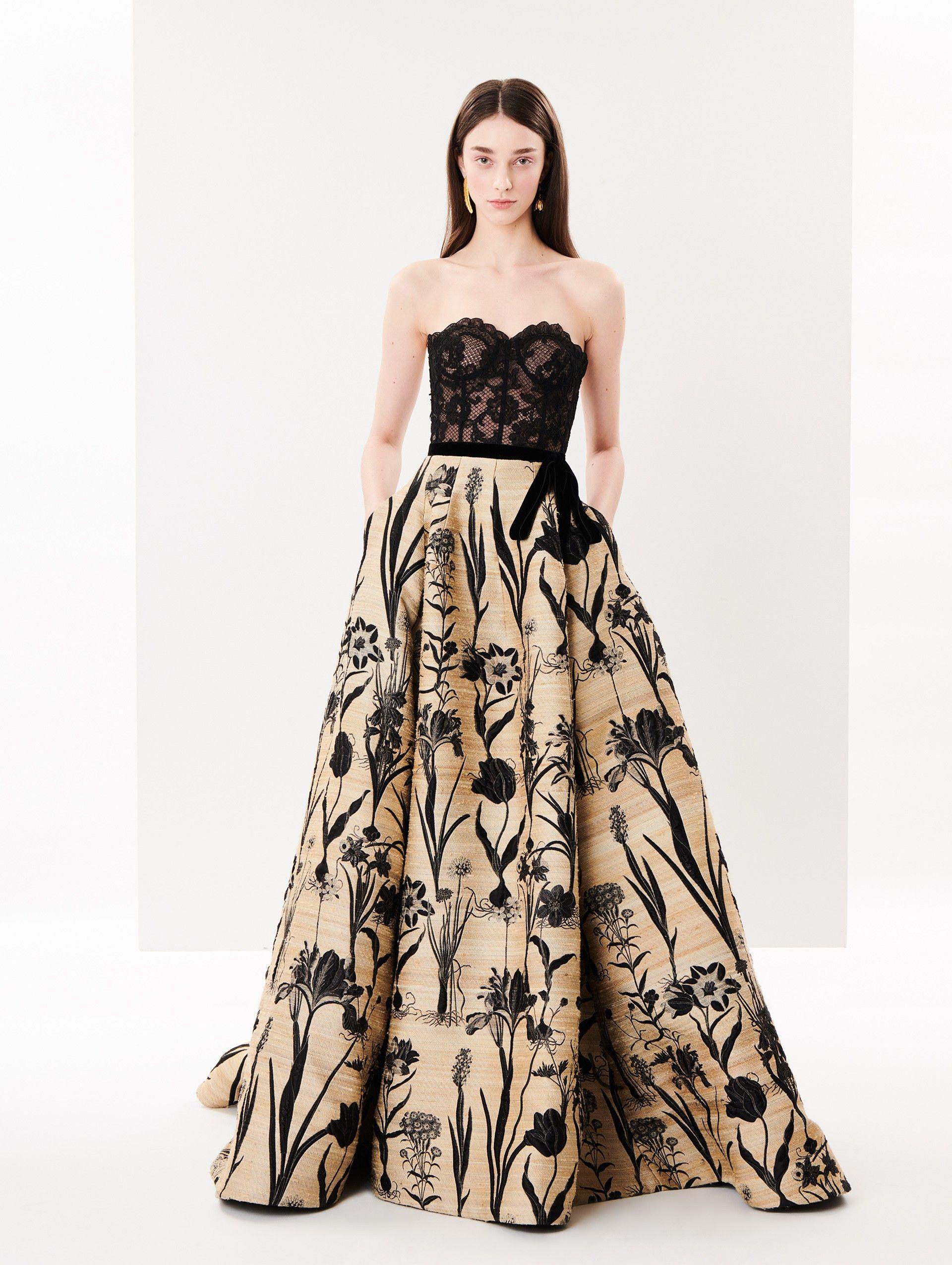 Rustic Evening Dress