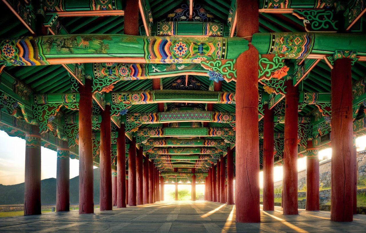 Korean Architectural Art Photo By Wulfman65 On DeviantART