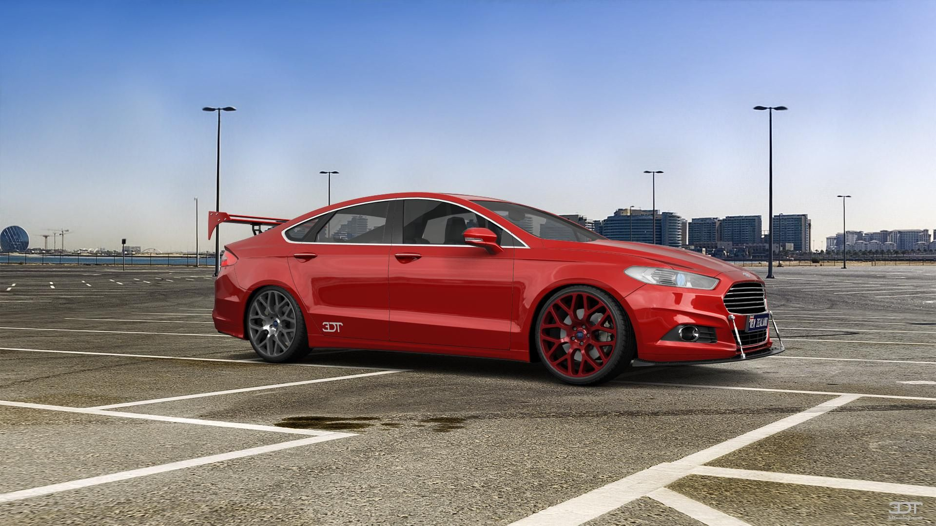 Checkout my tuning Ford Mondeo 2015 at 3DTuning
